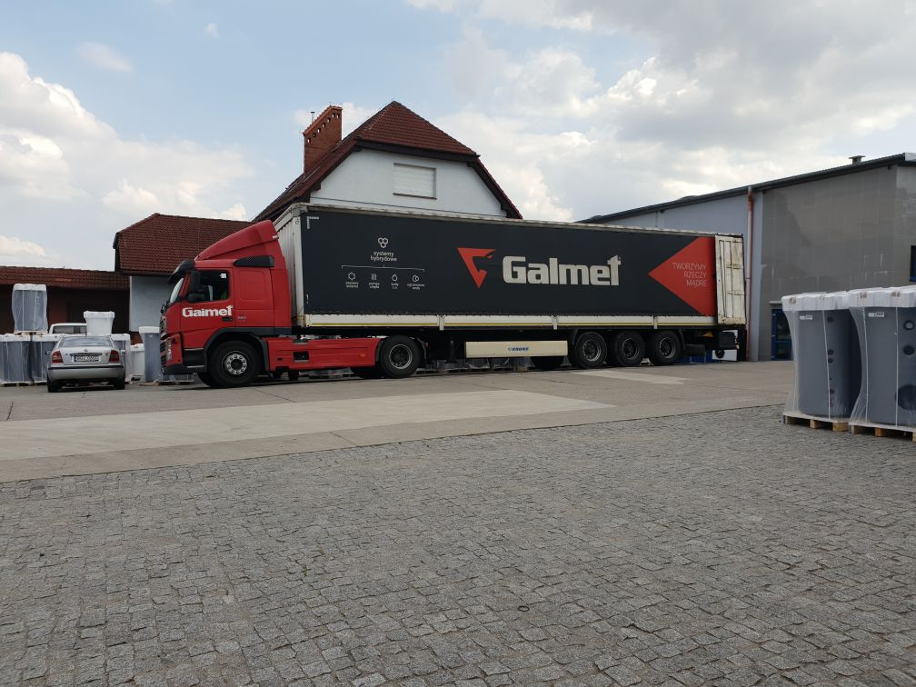 Транспорт компании Galmet