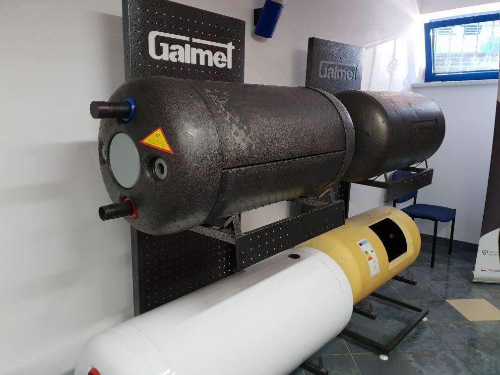 Выставочные модели бойлеров косвенного нагрева Galmet U-LINEA