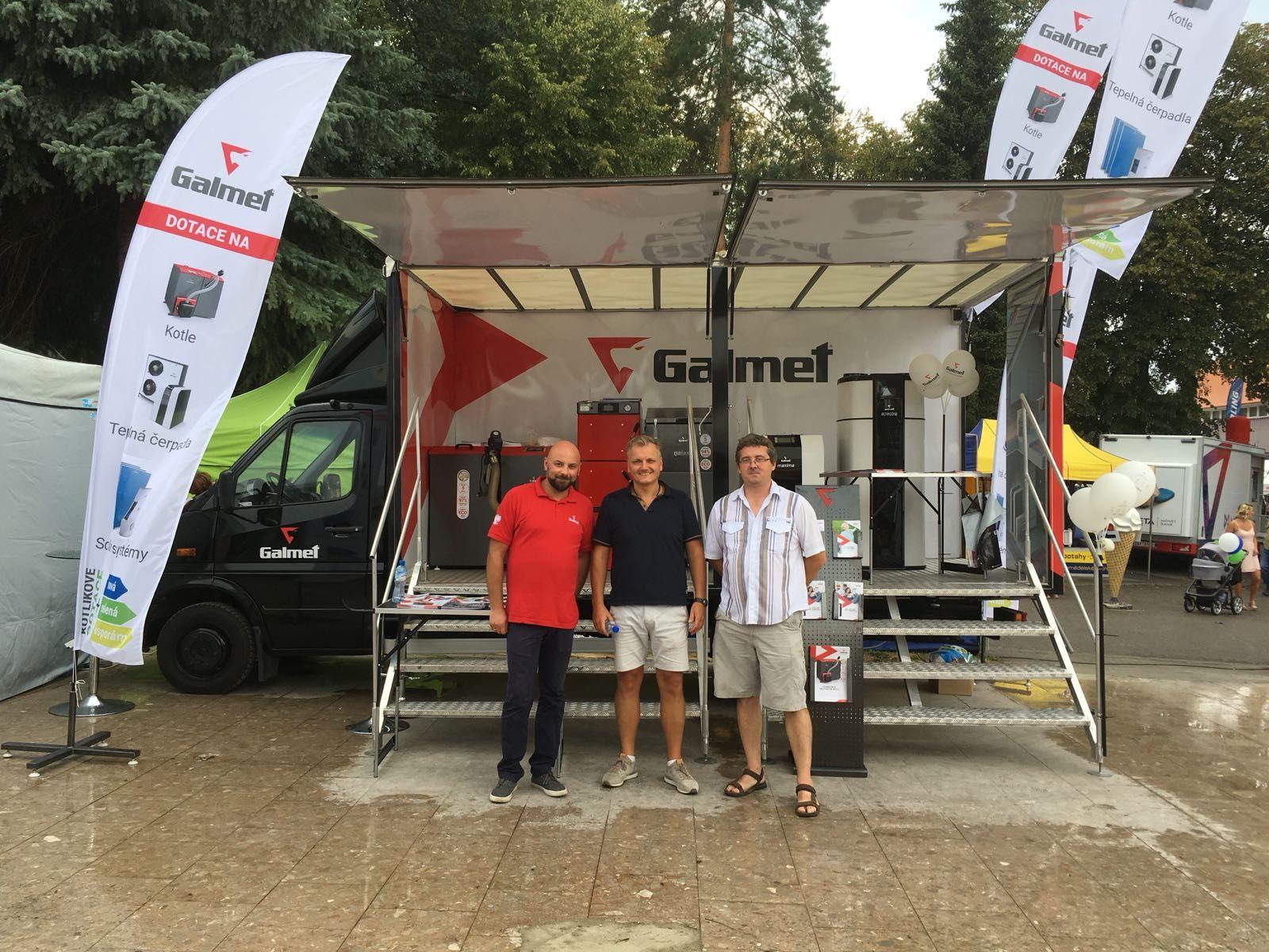 Galmet на выставке в Чехии