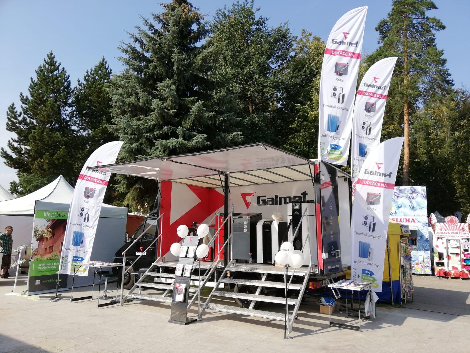 Твердотопливные котлы и тепловые насосы Galmet на выставке в Чехии