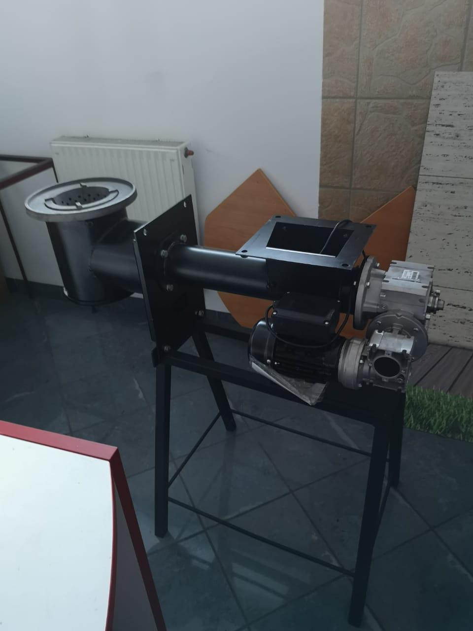 Выставочная модель поворотно ретортной горелки Galmet