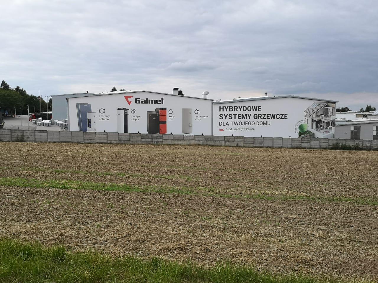Завод Galmet в Польше, г. Глубчице